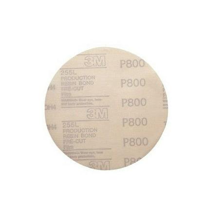 3M 1070 6 in  P800 Hookit Film Disc D/F (100-Pack)