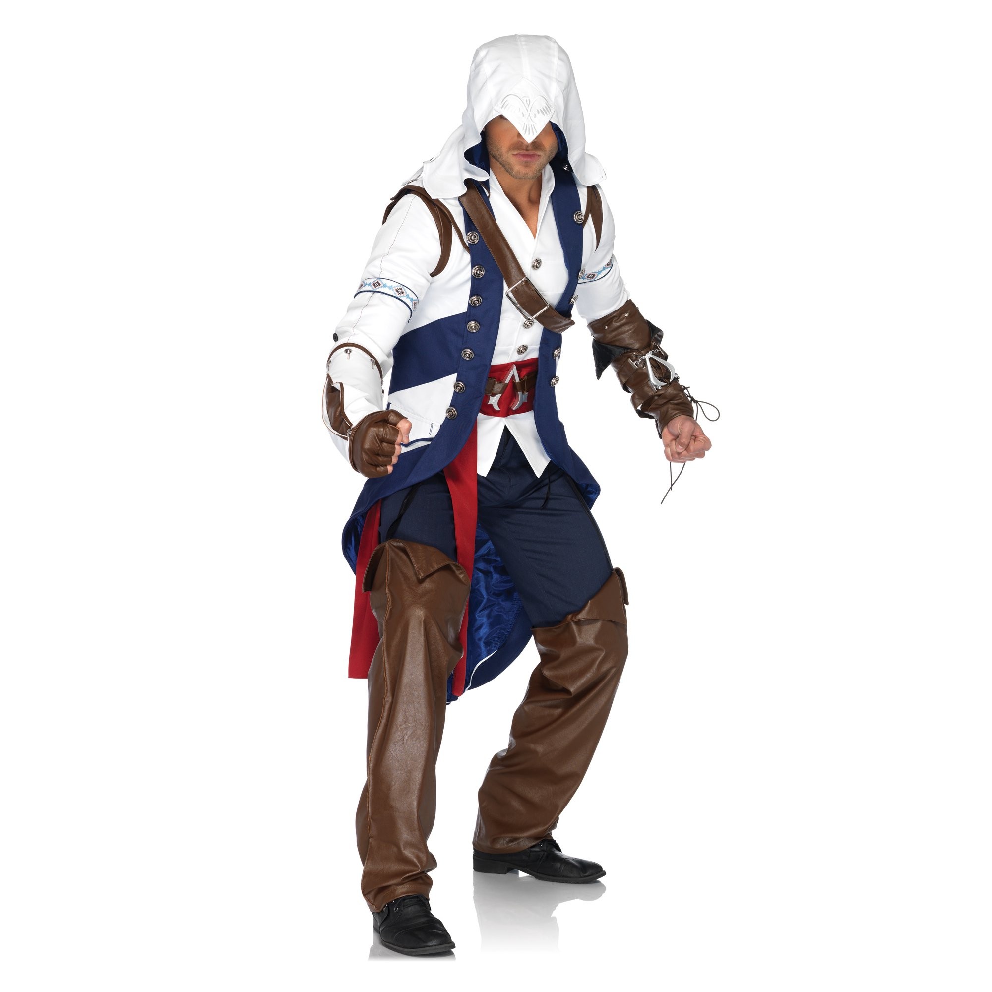 Assassin S Creed Iii Connor Costume Adult Medium Large Walmart
