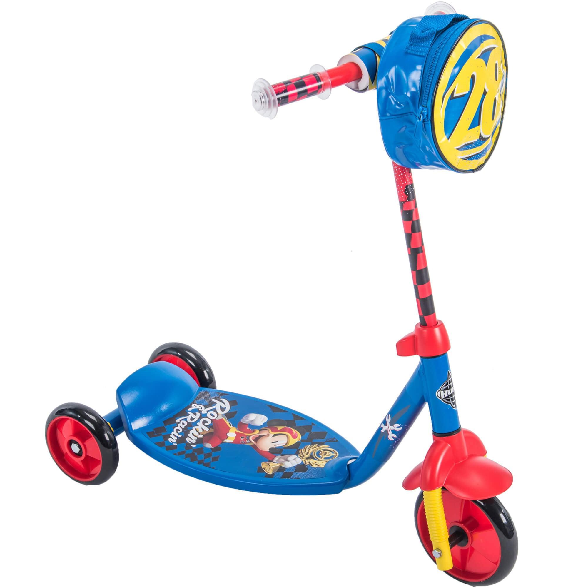 Disney Mickey Mouse Boys' 3-Wheel Preschool Scooter, by Huffy by Disney