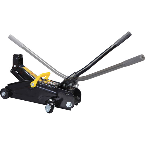 Torin 2-Ton Hydraulic Trolley Jack with 360-Degree Rotation Handle in Case