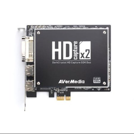 Avermedia Darkcrystal Hd Capture Sdk Duo [c129] - Functions: Video Capturing - Pci Express 2.0 X1 - 1920 X 1080 - Audio Line In - Pc - Plug-in Card