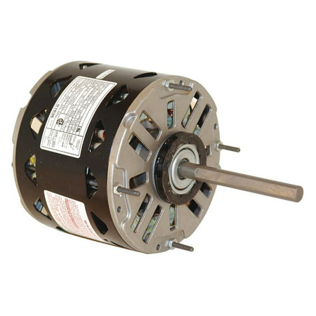 Century 1/3 HP Direct Drive Blower Motor, Permanent Split Capacitor, 1075 Nameplate RPM, 115 Voltage - DL1036 (Permanent Split Capacitor Blower)