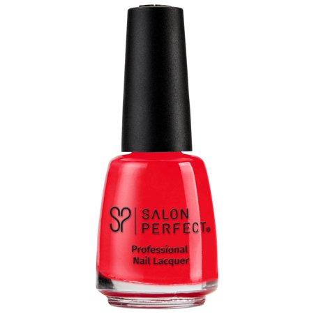 Spritzer Bottle ((2 Pack) Salon Perfect Nail Lacquer - Strawberry)