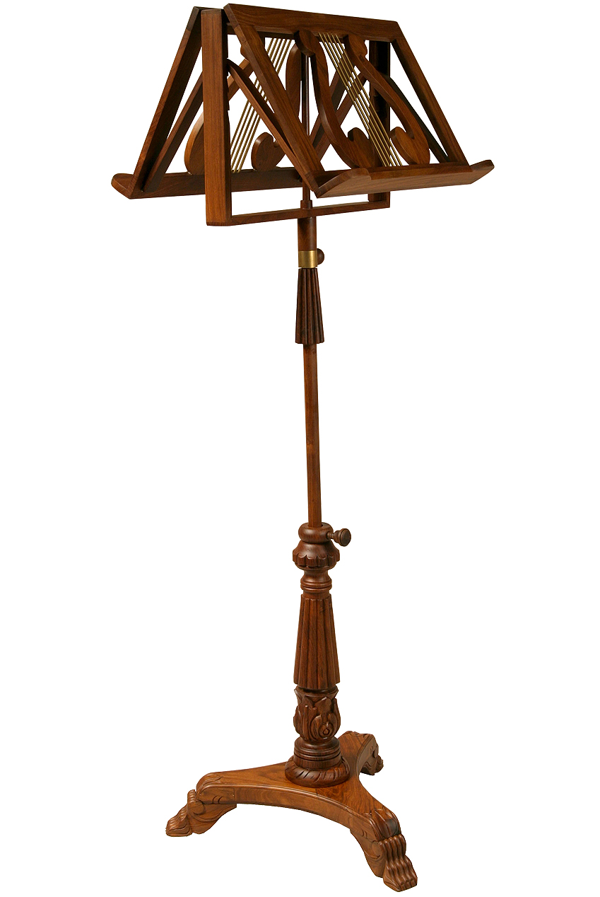 EMS Double Tray King Albert Music Stand by Early Music Shop
