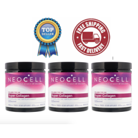Neocell Super Collagen Powder, Type 1 & 3, 7 oz (198 g)- 3 Pack