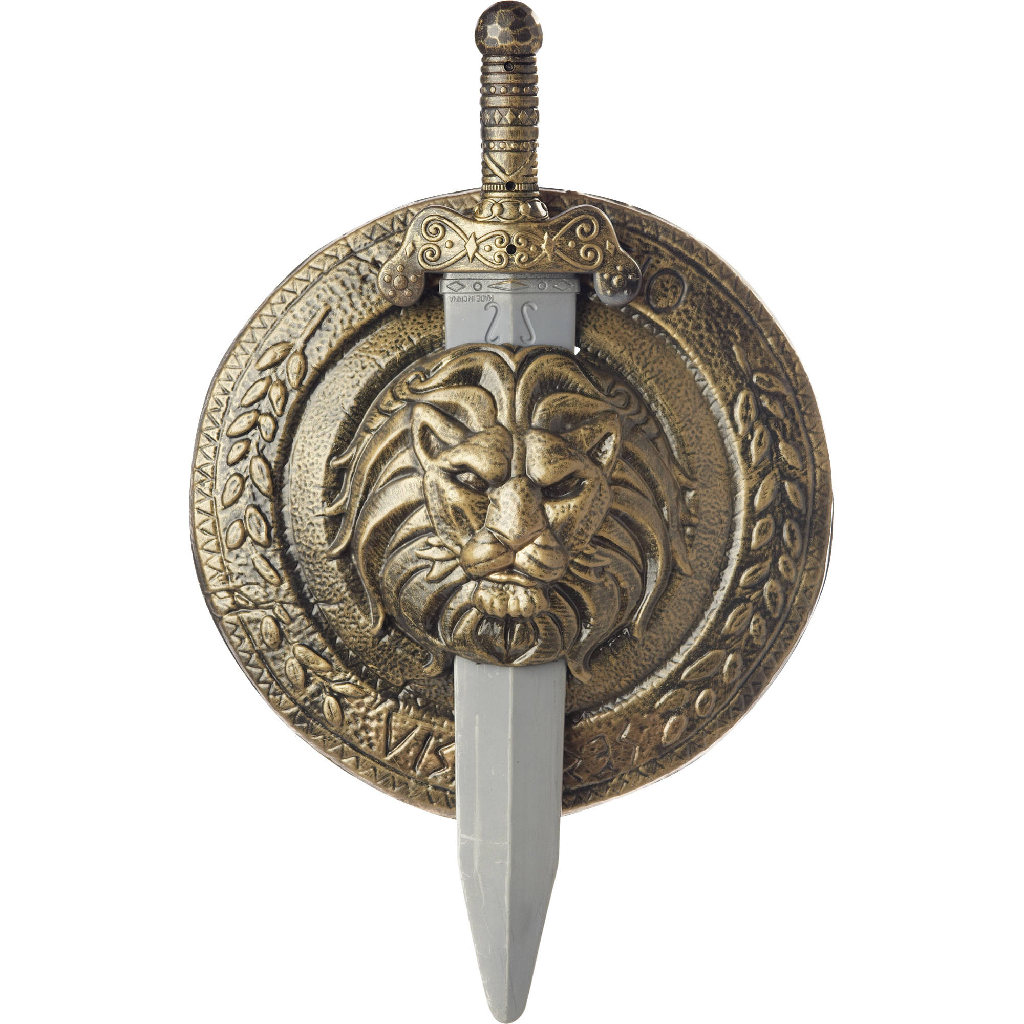 "Gladiator Shield Sword 18"" Adult Halloween Accessory"