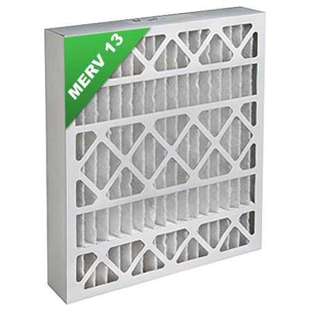 20x25x4 Merv 13 Pleated Ac Furnace Air Filters 4 Pack