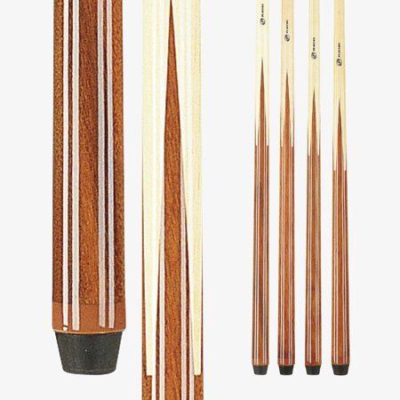 Players Set of 1 Piece Pool Cue Sticks - Professional Quality For Commercial Or Residential Use (4 or 8
