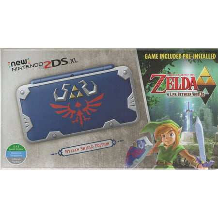 New Nintendo 2DS XL Console - Hylian Shield Edition - plays USA games