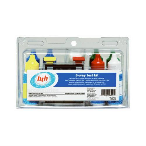 ARCH CHEMICAL 6-Way Pool Test Kit