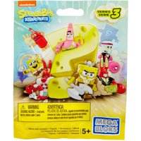 Mega Construx Spongebob Squarepants Micro Action Figures (Styles May Vary)