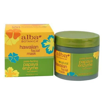 Alba Botanica Hawaiian Papaya Enzyme Facial Mask - 3 oz