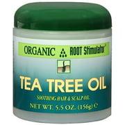 Organic Root Stimulator Tea Tree Hair and Scalp Oil, 5.5 oz (Pack of 4)