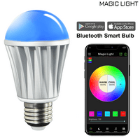 MagicLight Bluetooth Original Color Smart A19 Light Bulb, 60W Equivalent, No Hub Required