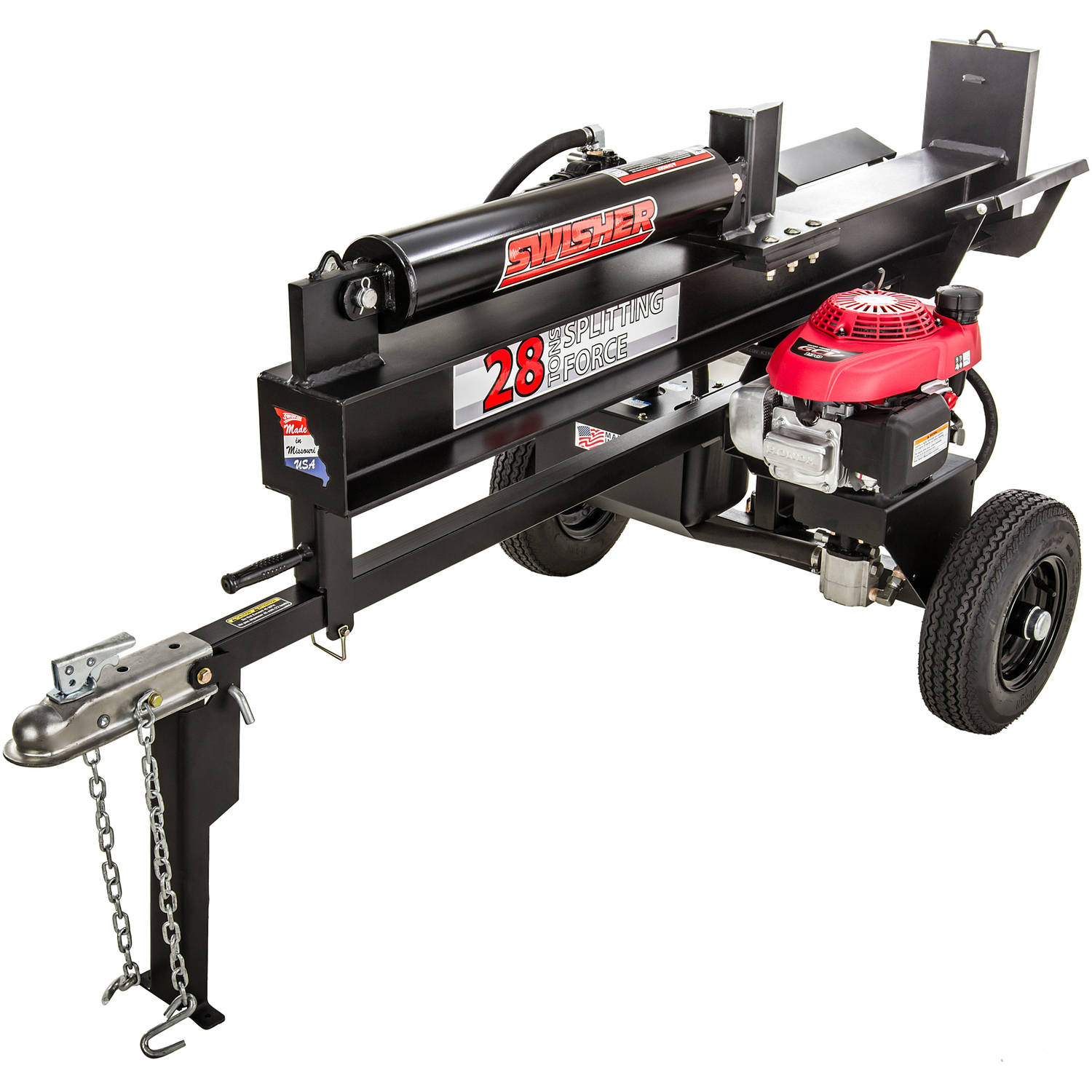 Swisher 5.1HP Honda 28 Ton Direct Drive Log Splitter by Swisher Acquisition, Inc