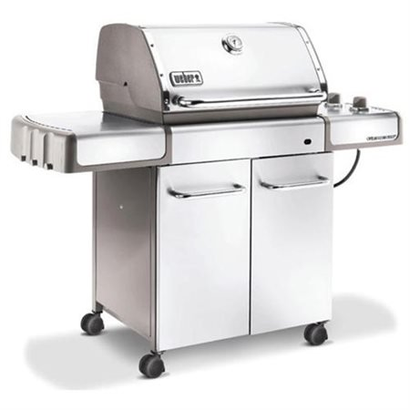 weber genesis s 310 stainless steel lp gas grill 2010 model. Black Bedroom Furniture Sets. Home Design Ideas