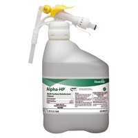 Diversey Alpha-HP Concentrated Multi-Surface Cleaner, Citrus Scent, 5000mL RTD Bottle