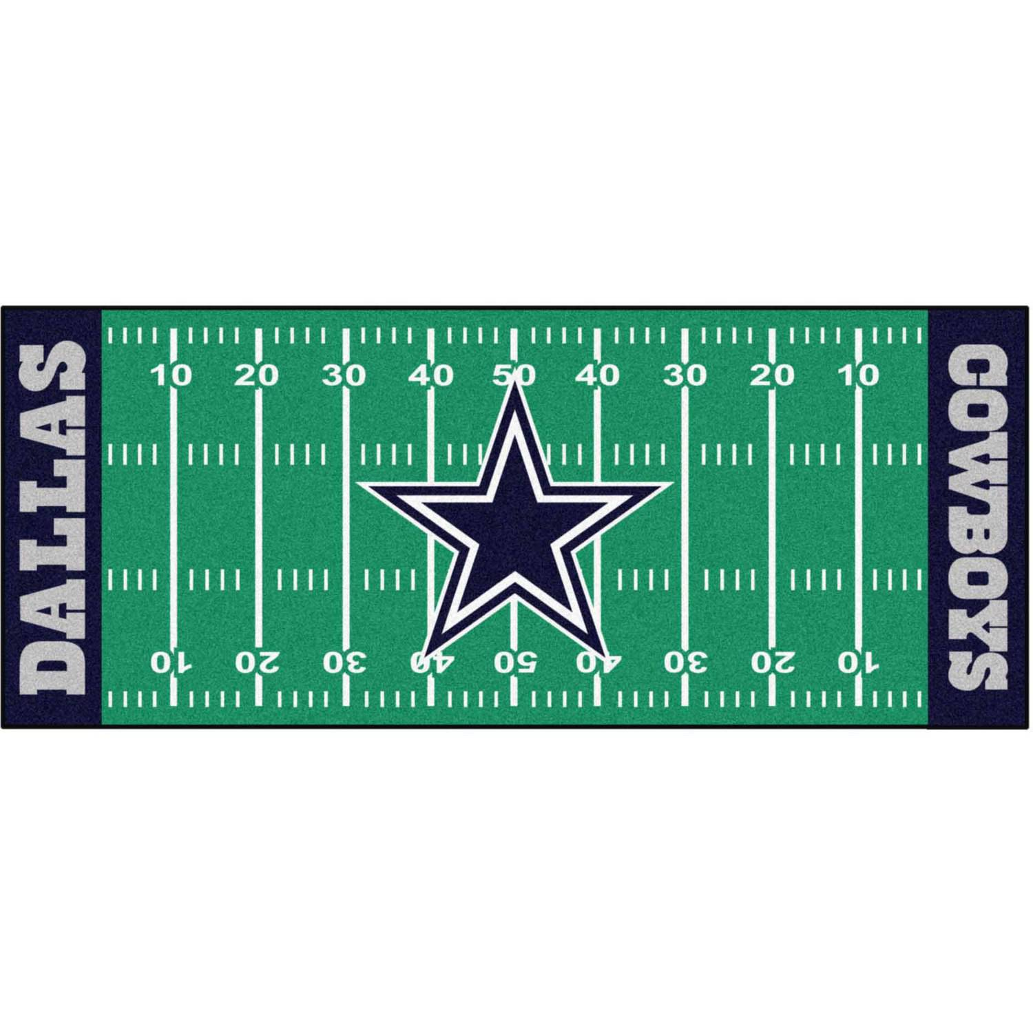 NFL Dallas Cowboys Football Field Runner