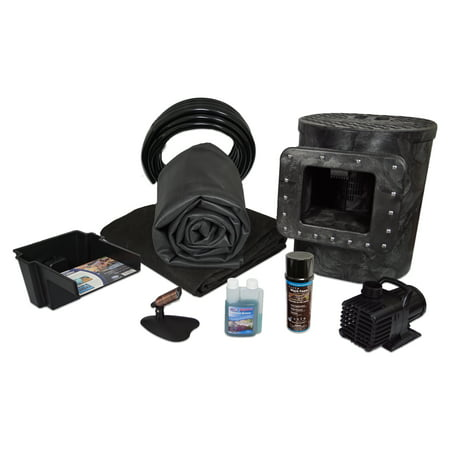Savio Select 1200 Complete Water Garden and Pond Kit, with 10 x 10 Foot EPDM Rubber Liner