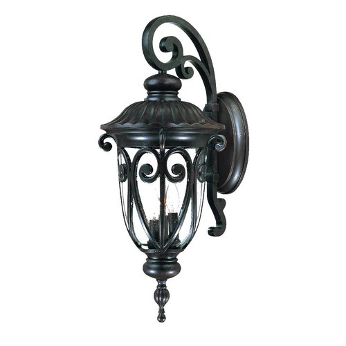 Astoria Grand Appalachian 3-Light Outdoor Cast Aluminium Sconce