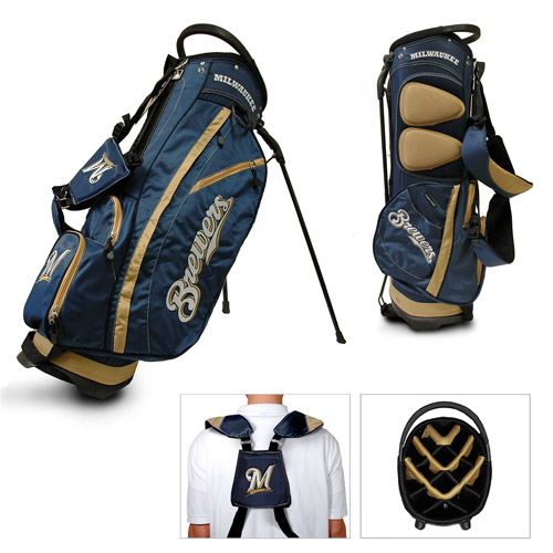 Team Golf MLB Milwaukee Brewers Fairway Golf Stand Bag