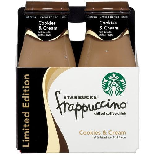 Starbucks Frappuccino Cookies & Cream Coffee Drink, 9.5 fl oz
