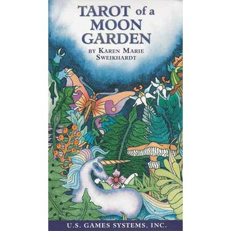 A Halloween Party Games (Party Games Accessories Halloween Séance Tarot Cards Tarot of a Moon Garden by Sweikhardt &)