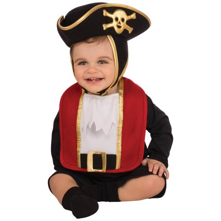 Baby Pirate Bib & Hat Costume](Pirate Ideas For Toddlers)