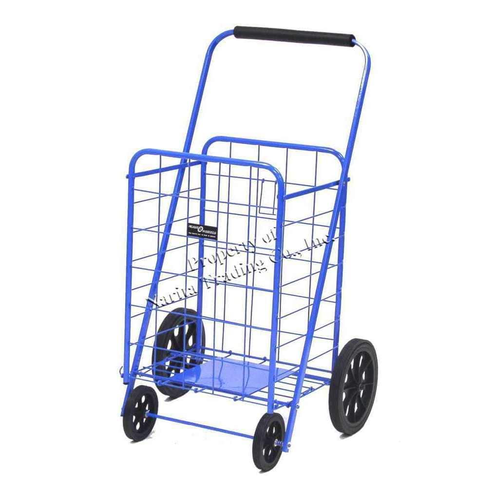 Easy Wheels Super Shopping Cart - Multiple Colors