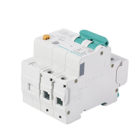 babydream1 230V 2P leakage protective breaker with Overcurrent Protection Over Short Current Leakage Protector - image 1 de 9