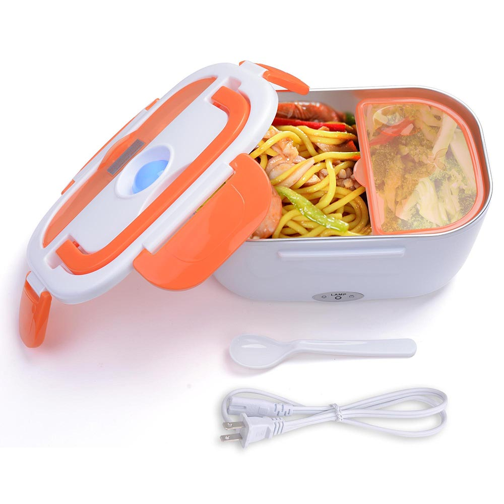 Yescom 1.5L Portable Electric Heating Lunch Box Food Storage Box with Removable Container