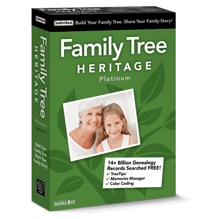 family tree heritage platinum 15 window walmart com