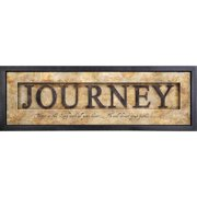 Carpentree Shadowbox Journey Framed Textual Art