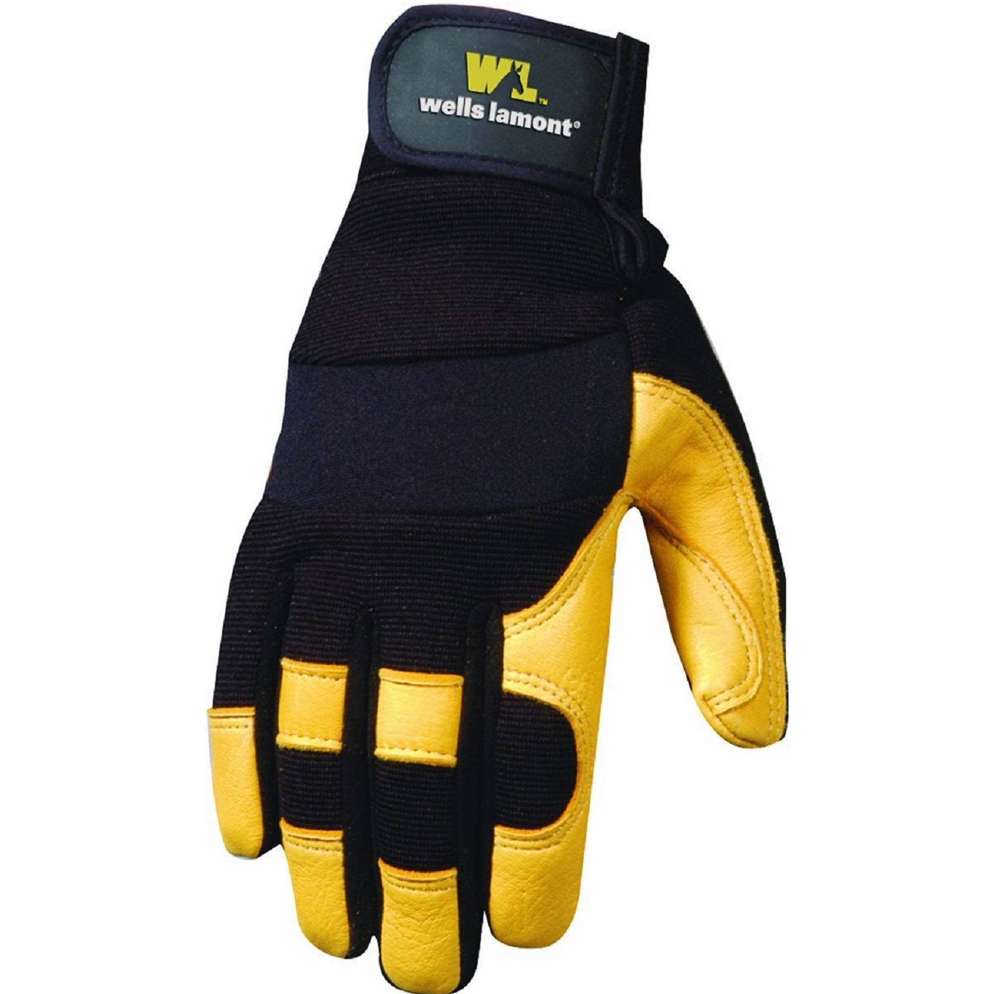 Wells Lamont Ultra Comfort Deerskin Work Gloves/Men M