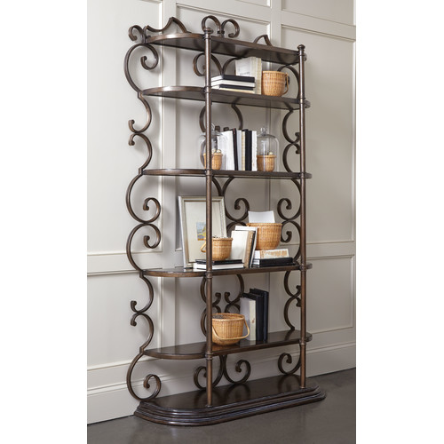 Astoria Grand Sofitel 88'' Etagere Bookcase by