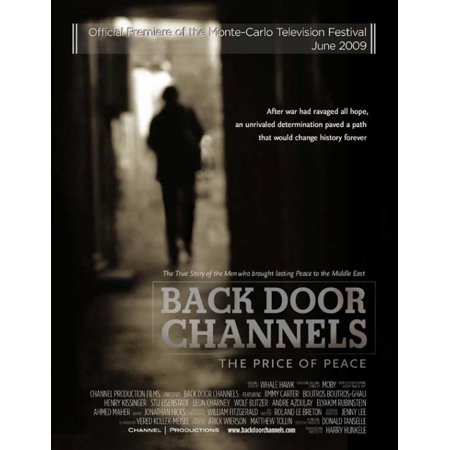 - Back Door Channels The Price of Peace Movie Poster (11 x 17)