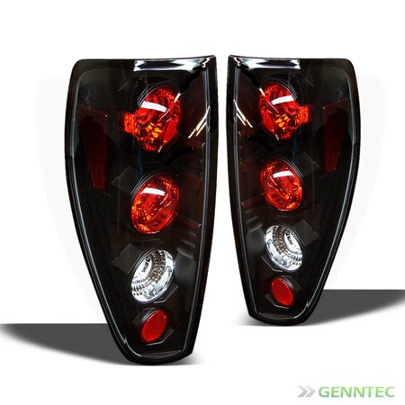 (2004-2012 Chevy Colorado GMC Canyon Tail Lights Lamps Rear Brake  L+R Pair Left+Right 2005 2006 2007 2008 2009 2010 2011)