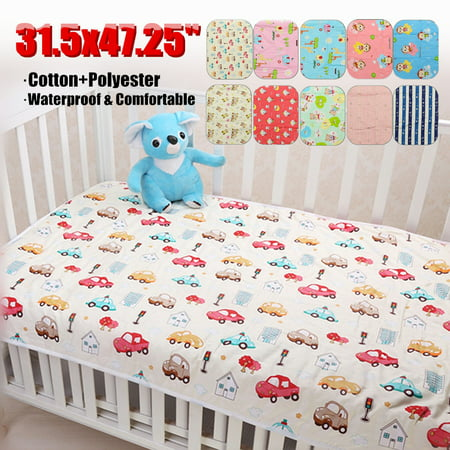 - Grtxinshu Newborn Baby Diaper Changing Pad Cotton Breathable Waterproof Baby Nappy Changing Mat Urine Pad 31x47
