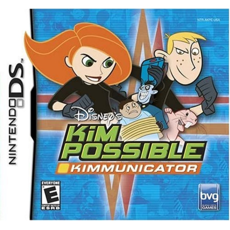 Kim Possible Kimmunicator - Nintendo DS