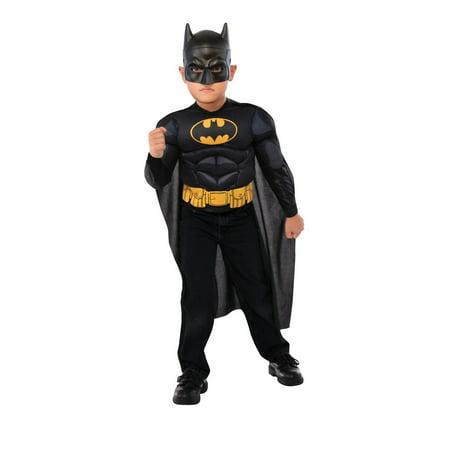 Batman Muscle Chest Shirt Set Halloween Costume