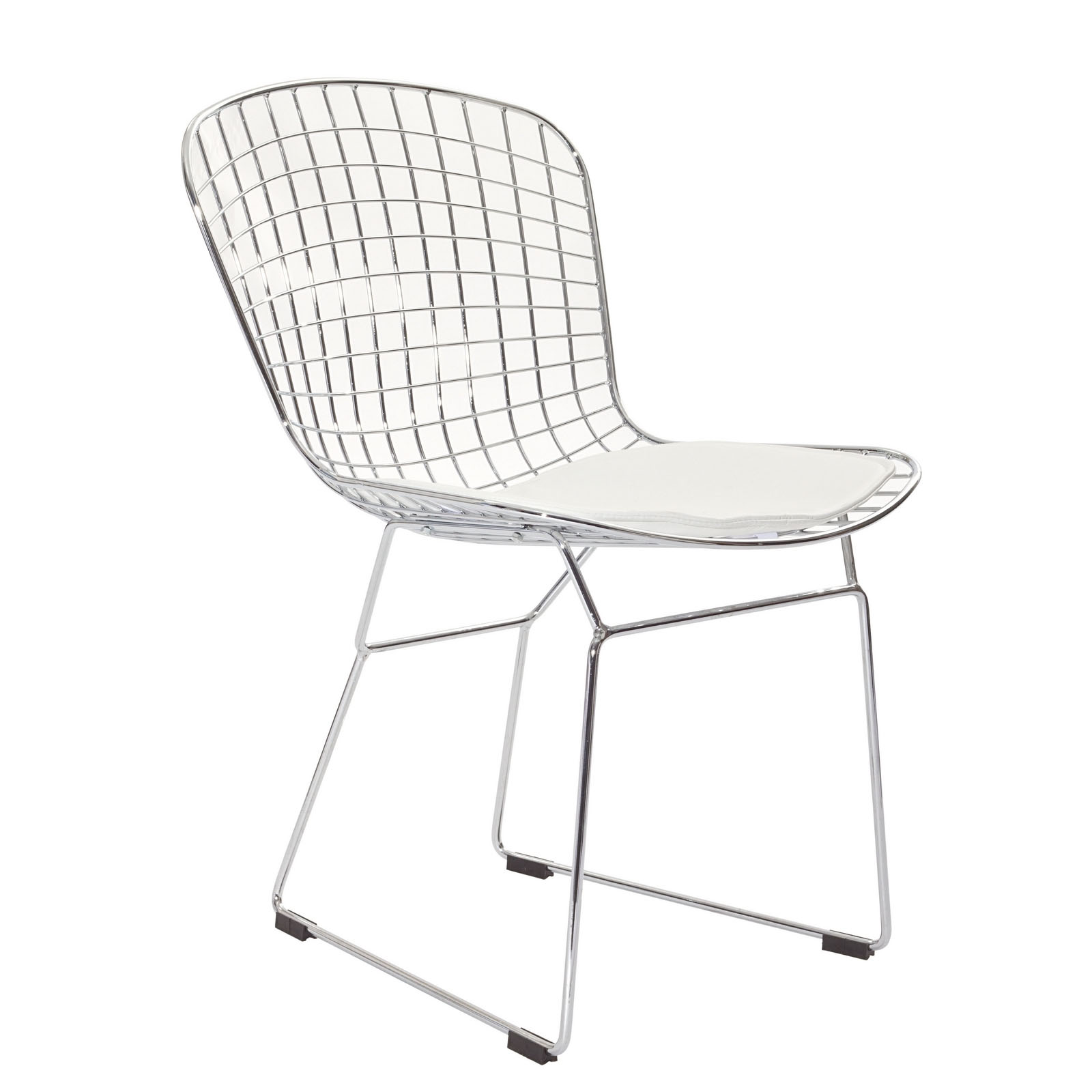 Modern Contemporary Kitchen Dining Side Chair White