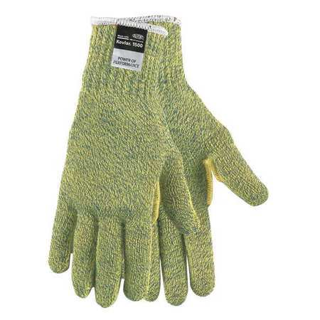 MCR SAFETY Cut Resistant Gloves,4,S,Yellow/Green 9399S](Green And Yellow Gloves)