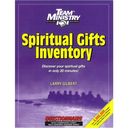 Team Ministry Spiritual Gifts Inventory, Classic Edition, Adult English : Discover Your Spiritual Gifts in Only 20