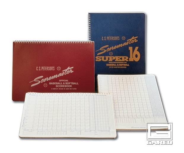 Peterson's Baseball Super Scoremaster 16 Scorebook Set of 12 by Gared Holdings