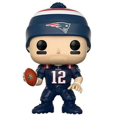 Funko Pop  Sports  Nfl W4  Tom Brady  Patriots Color Rush