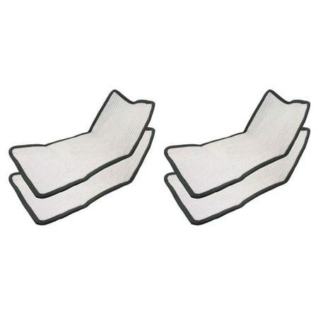 Crucial Floor Steamer Cloth Pad (Set of 4)