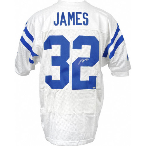 NFL - Edgerrin James Autographed Jersey | Details: Indianapolis Colts, Away