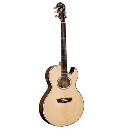 Washburn Signature Guitar (Washburn USM-EA20SNB Nuno Signature Series Acoustic Electric Guitar, Natural )