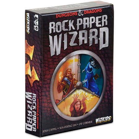 WizKids Dungeons and Dragons Rock Paper Wizard Board (Name Of Three Dragons In Game Of Thrones)
