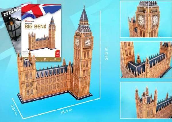 Big Ben (London, England) 3D Foam Puzzle (116pcs) by